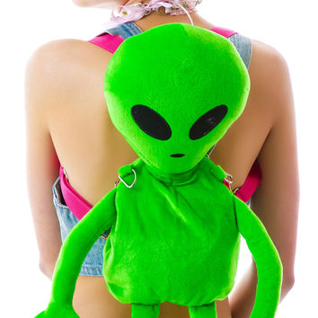 Dolls Kill Lost E.T. Alien Backpack
