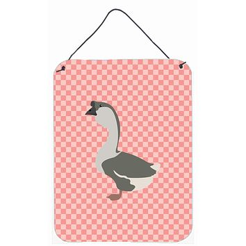African Goose Pink Check Wall or Door Hanging Prints BB7899DS1216