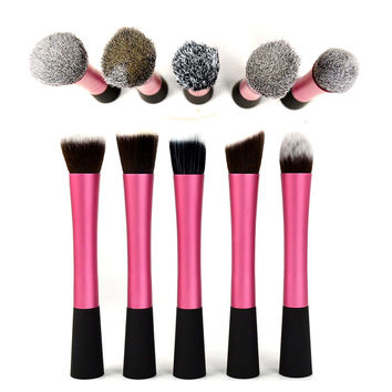 5 Models Women Makeup Professional Waistline Cosmetic Eyeshadow Powder Brush