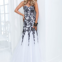 Strapless Sweetheart Tony Bowls Le Gala Formal Prom Dress 114520