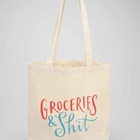 Emily McDowell Grocery Bag- Multi One