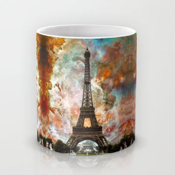The Eiffel Tower - Paris France Art By Sharon Cummings Mug by Sharon Cummings