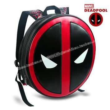 2016 Creative Deadpool Backpacks Mochila Masculina Super Hero Notebook Computer Bags Men Bagpack for birthday gift