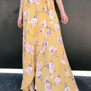"""Flower in Your Pocket"" Maxi Skirt"