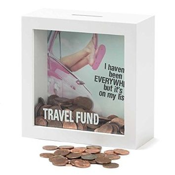 Shadow Box Bank - Travel Fund
