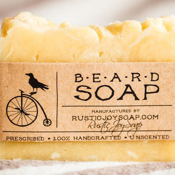 Beard Soap -  natural soap,homemade soap,handmade soap,vegan soap,skin&hair care soap.