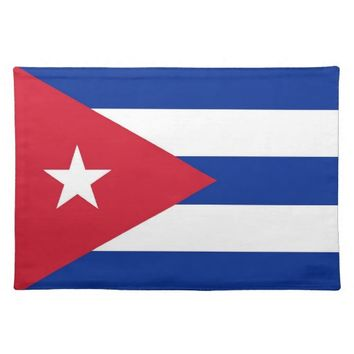 Cubanese Flag on MoJo Placemat