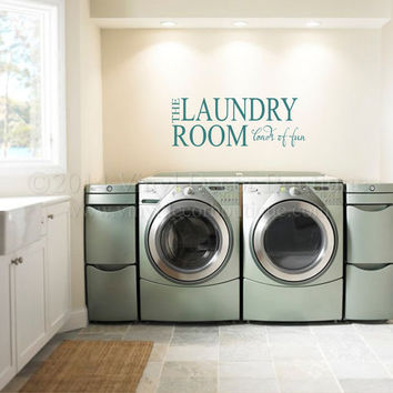 shop laundry room wall decal quotes on wanelo