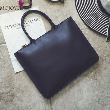Brand Designer Vintage Women Leather Handbags Purses Casual Tote Hobos Ladies Shoulder Bag Women Laptop Bag Bolsos Mujer