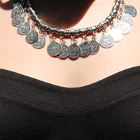 Shayla Coin Necklace