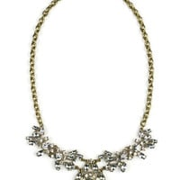 statement necklace, statement necklaces, crystal necklace, crystal jewelry, jcrew inspired necklace, j crew inspired jewelry,