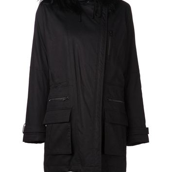Vince hooded parka coat