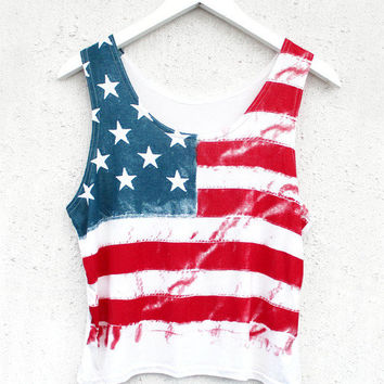 USA Crop Tee | BATOKO