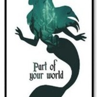 The Little Mermaid Ariel Hard Case for Apple Iphone 4/4s Caseiphone4/4s-625