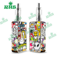 Electronic Cigarette Snow Wolf 200w tc Box Mod