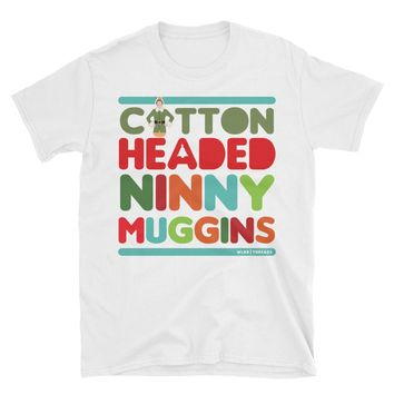 Cotton Headed Ninny Muggins Shirt | Men's Buddy The Elf Shirt