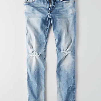 AEO Flex Air Slim Straight Jean, Medium Wash