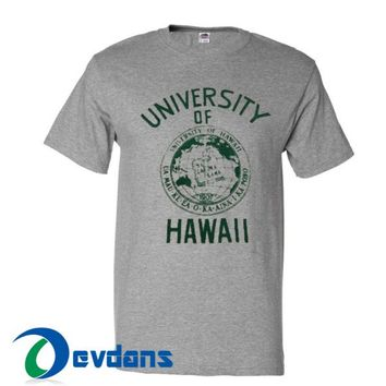 University Of Hawaii T Shirt Women And Men Size S To 3XL