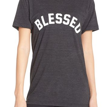 Private Party 'Blessed' Graphic Tee | Nordstrom