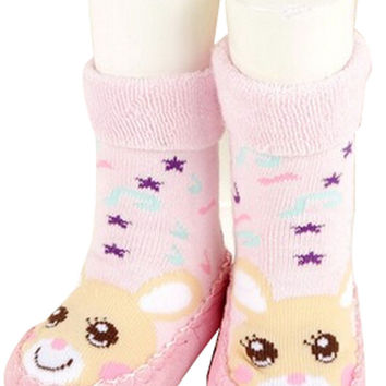 Antiskid Baby Autumn Winter Cartoon Bootie Baby Shoes Toddler Shoes G