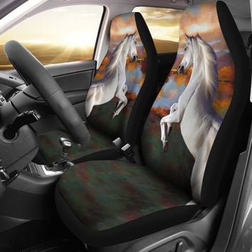Arabian horse Print Car Seat Covers-Free Shipping