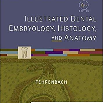 Illustrated Dental Embryology, Histology, and Anatomy 4 PAP/CRDS