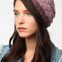 Urban Outfitters - Layered Crochet Beanie