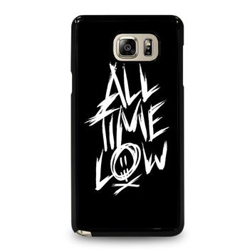 ALL TIME LOW LOGO Samsung Galaxy Note 5 Case