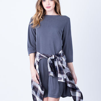 Casual Relaxed Dress