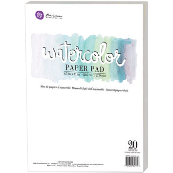 Prima Marketing 20ct 8.5''x11'' Watercolor Cold Press Paper Pad - JoAnn | Jo-Ann