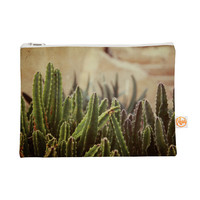 "Jillian Audrey ""Green Grass Cactus"" Green Brown Everything Bag"