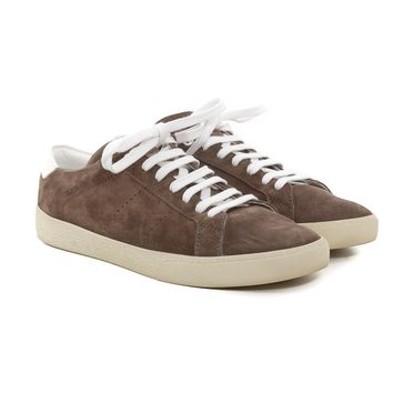 Saint Laurent SL/06 Suede Sneakers