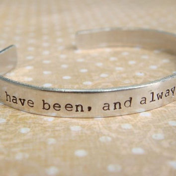 Star Trek Jewelry / Star Trek Friendship Bracelet / Spock Jewelry / I have been, and always shall be, your friend