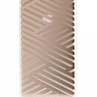Crisscross Rose Gold iPhone 6 Case