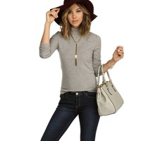Gray On The Go Knit Top