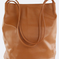 Camel Magazine Work Tote Bag