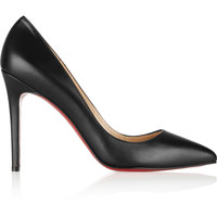 Christian Louboutin - The Pigalle 100 leather pumps