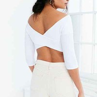 Kimchi Blue Dont Get It Twisted Cropped Top - Urban Outfitters