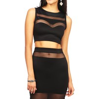 Mesh It Up Two Piece
