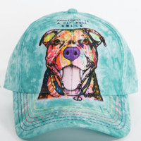 Pit Bull Smile Hat by Dean Russo