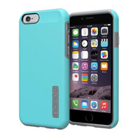 Incipio iPhone 6 Dual PRO Case - Light Blue / Cool Grey