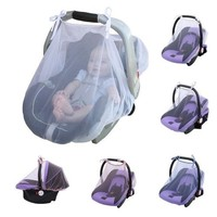 Baby Car Seat Mosquito Net Cover