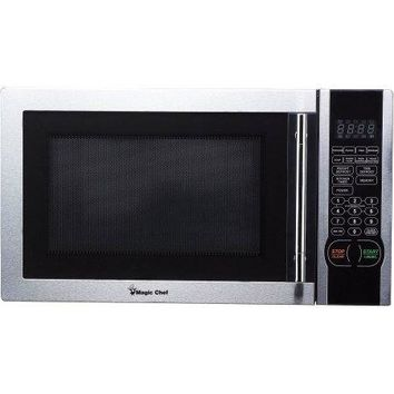 Magic Chef 1.1 cu. ft. Digital Microwave, Stainless Steel, 1,000 watts, 10 power levels, / Simple and intuitive electronic controls