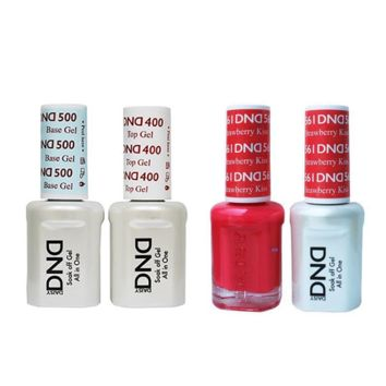 DND - Base, Top, Gel & Lacquer Combo - Strawberry Kiss - #561