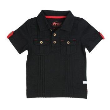 Black 2- Pocket Polo