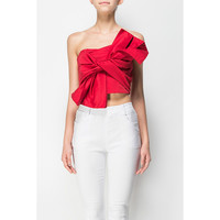 FRONT BOW CROP TOP