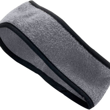 Augusta 6753 Chill Fleece Sport Headband - Dark Gray