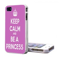 Iphone 5 Case - Keep Calm Princess Iphone 5 Cover