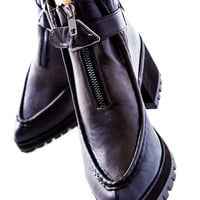 Y.R.U. Clueless Ankle Boots Black