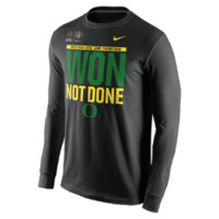 Nike Rose Bowl Locker Room Long-Sleeve (Oregon) Men's T-Shirt